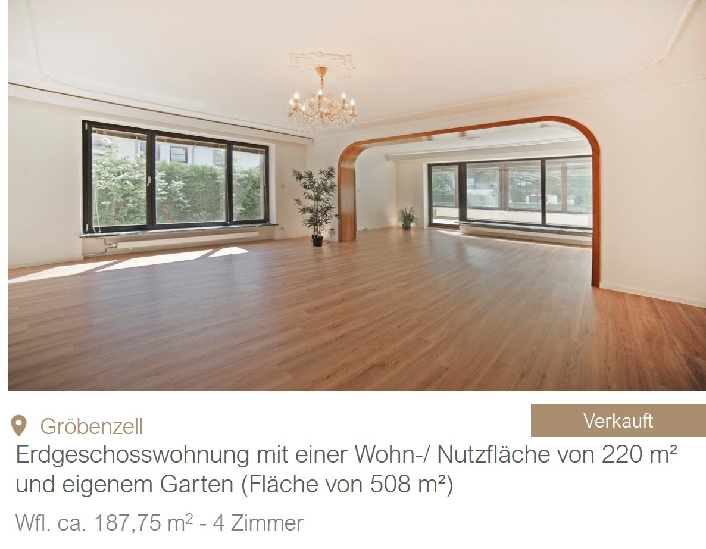 Gröbenzell Hausverkauf MGF Group