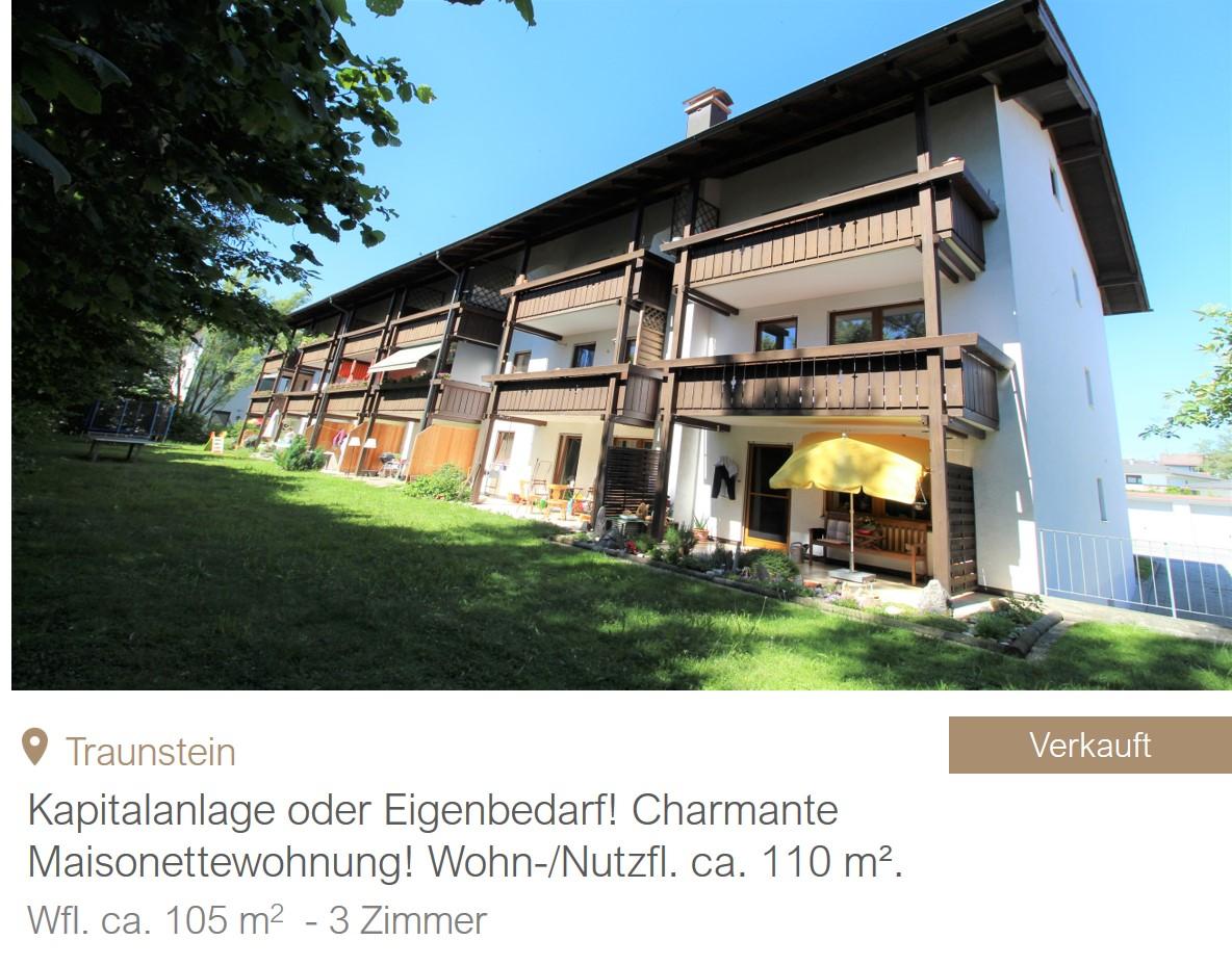 MGF Group - Traunstein Wohnung