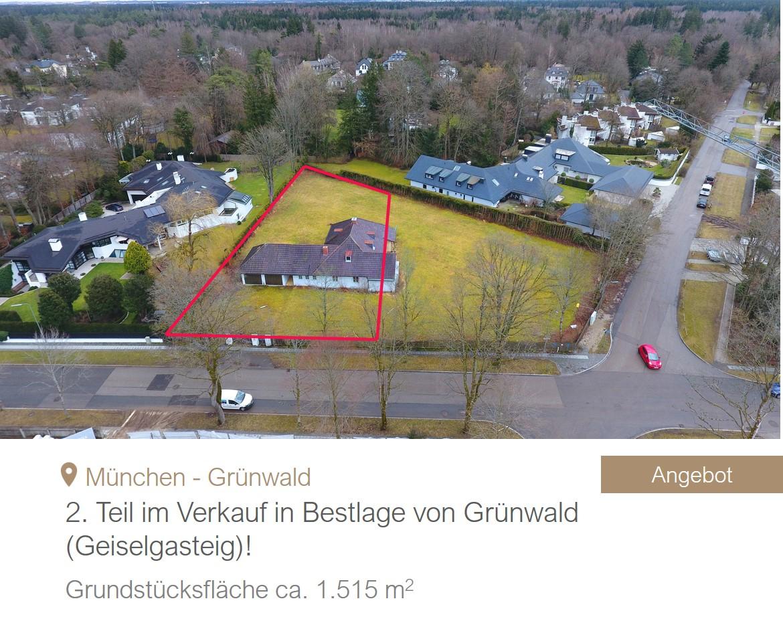 MGF Group Grundstück Grünwald