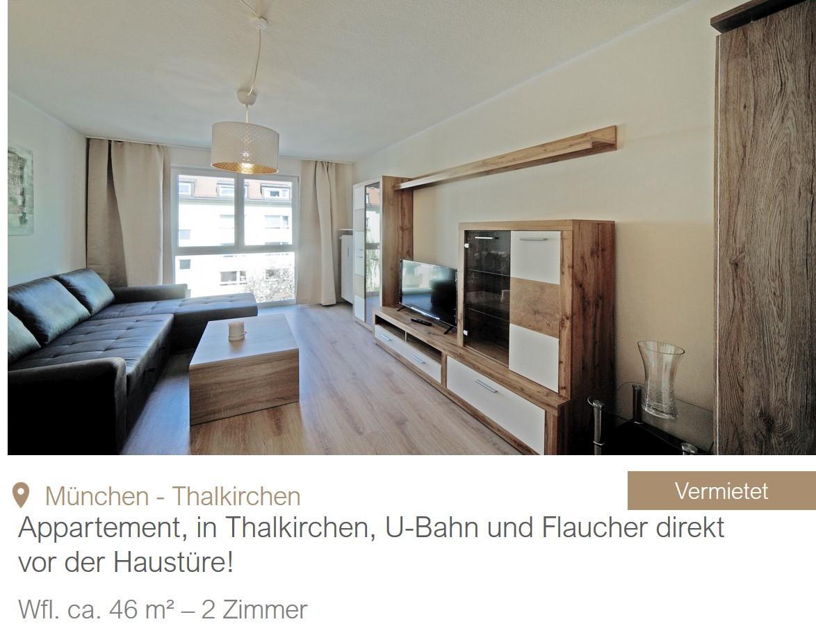 MGF Group Wohnung Thalkirchen