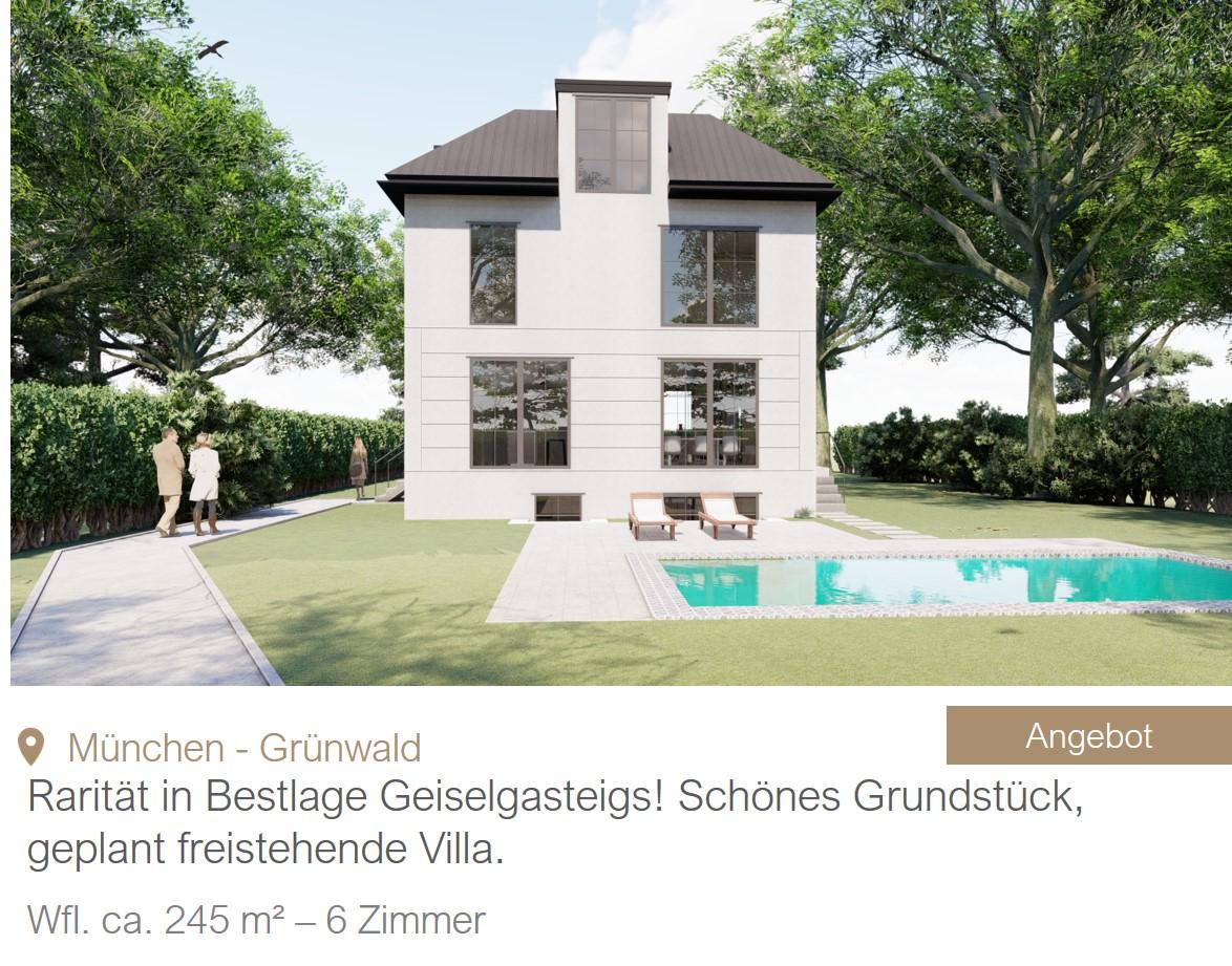 MGF Group Villa Neubau