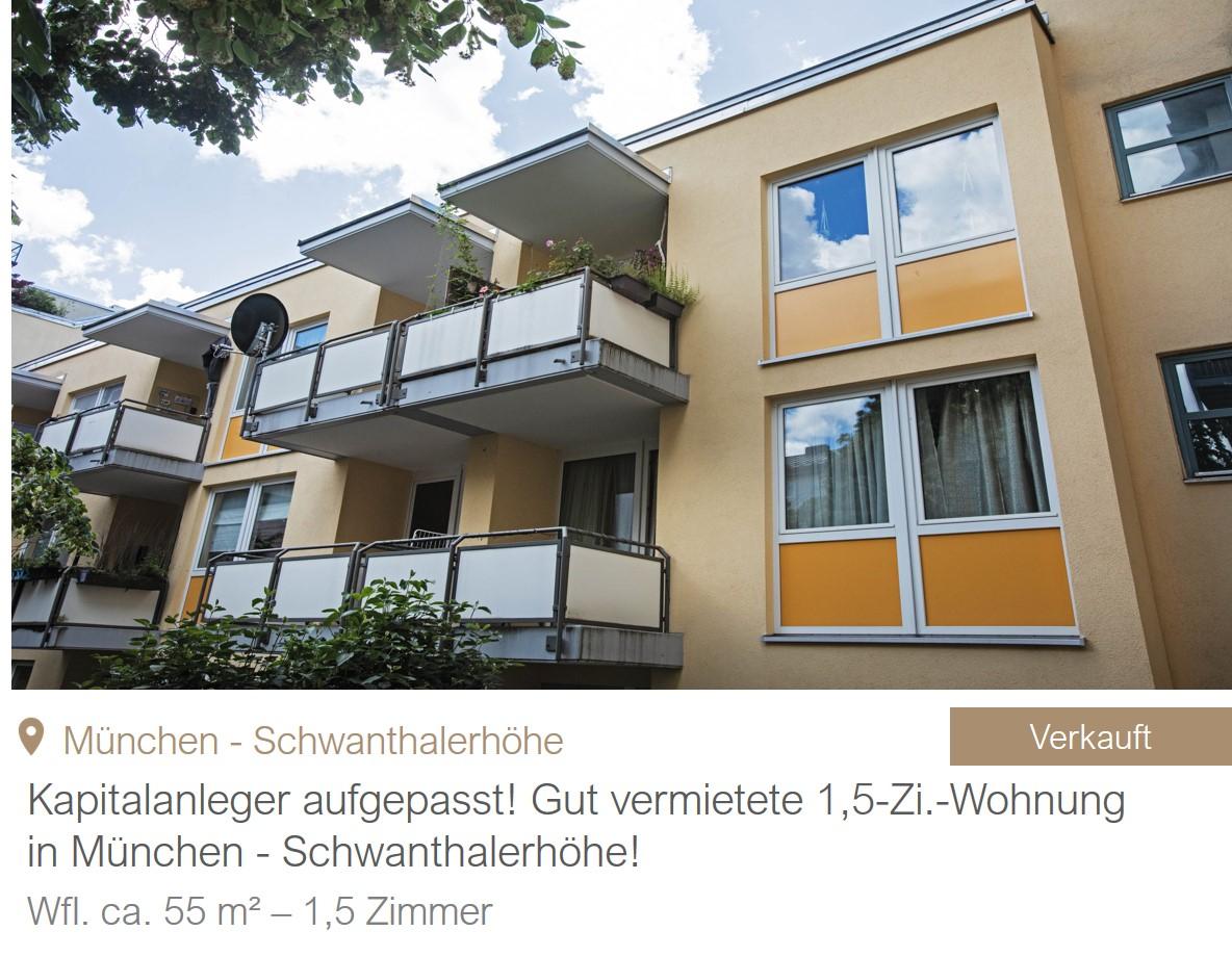 MGF Group - Schwanthalerhöhe Wohnung Verkauf