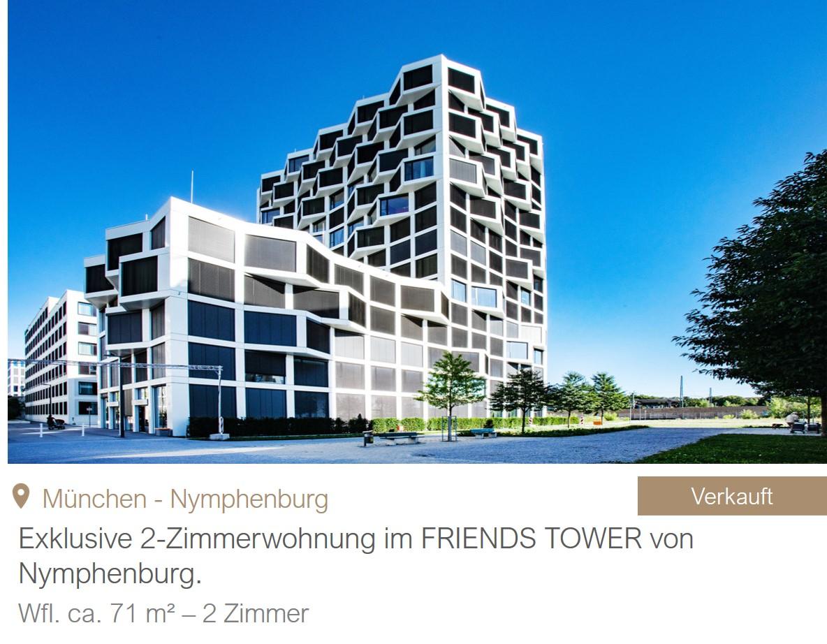 MGF Group - Friends Tower Wohnung Verkauf