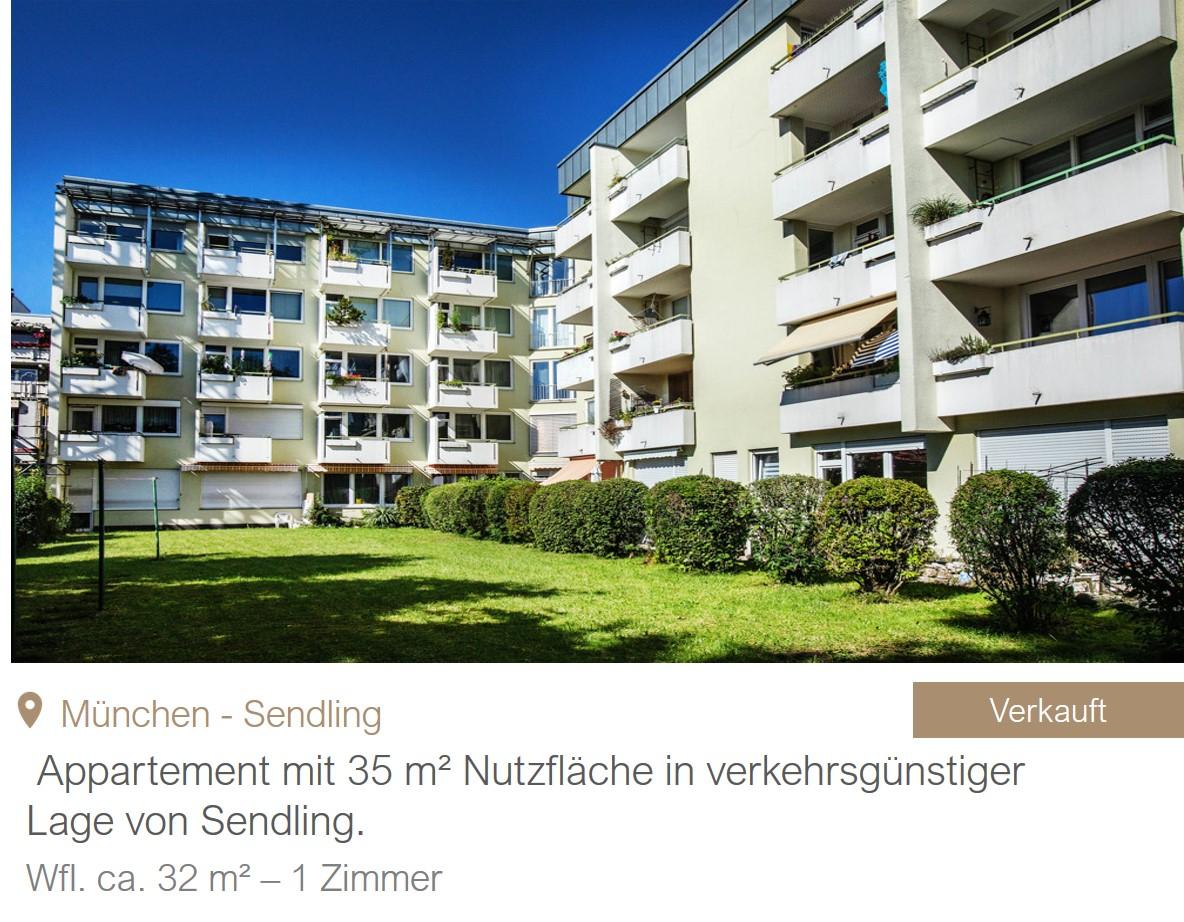 MGF Group Sendling Wohnung