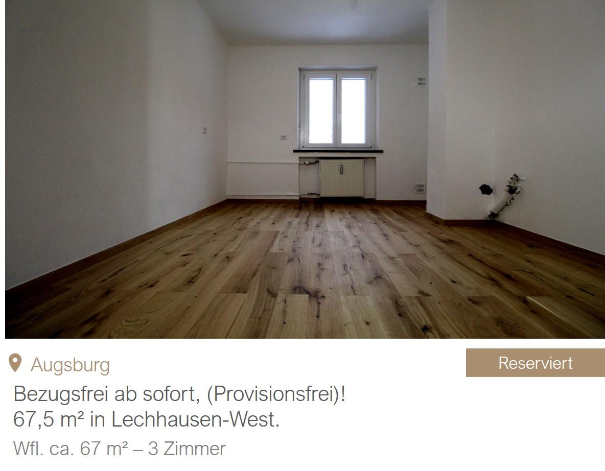 MGF Group - Wohnung Augsburg Verkauf