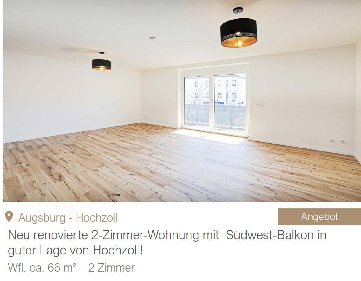MGF Group - Wohnung Augsburg Hochzoll
