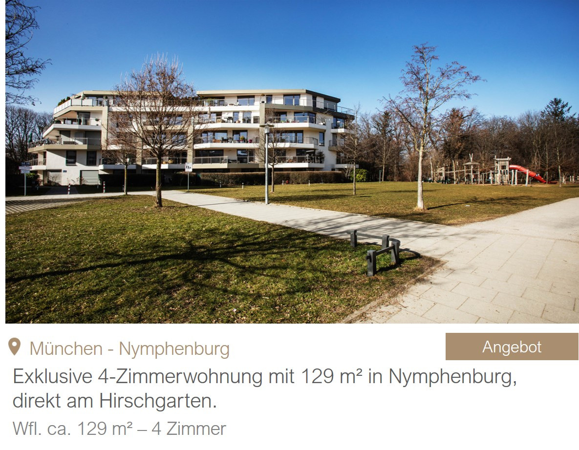 MGF Group - Wohnung Hirschgarten Miete